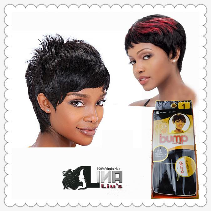 Brazilian virgin Hair Free Closure Sensationnel Bump 27pcs Human Hair Extensions Human Hair Weaving Weft 3pcs/pack, 5Packs/lot(China (Mainland))