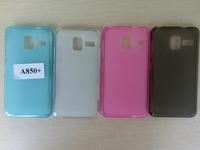 TPU Pudding Soft Case For Lenovo A850+ Translucent Soft Case For Lenovo A850 Plus Free Shipping