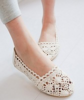 plus size eur 34-43 summer fashion cut outs lace girls shoes woman 2014 ladies female flats Sandals for women SD140231