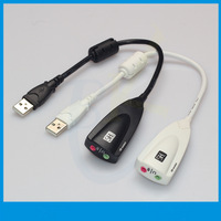free shipping wholesale 5pcs/lot high quality New Steel Series Siberia USB 7.1 Sound cards laptop external sound card