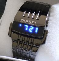 2014 DZ43 new men's sports watches, steel strap LED watches, fashion luxury brand military watches, Relogio feminino