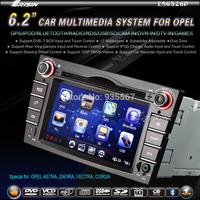 "6.2"" OPEL ASTRA ZAFIRA VECTRA CORSA HD Car Autoradio DVD Player with GPS IPOD DVR+DVB-T-IN Radio Stereo Russian Menu Headunit"