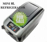 Mini car refrigerator 8L input DC12V with Cigar lighter CE,RoHs approval