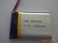 553450 3.7V 1000mah lithium polymer battery wholesale