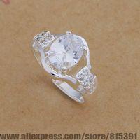 AR654 925 sterling silver ring, 925 silver fashion jewelry, popular/transparent stone /bhqajyxa dxnamoua