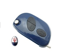 2014 Newest Item BRAND NEW REPLACEMENT Shell Remote Key Case 3 Button for Maserati 10pcs/Lot