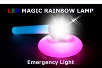 Portable LED magic rainbow lamp+Simple touch once+Emergency light+Turn on sleeping blue light drop shipping!!!