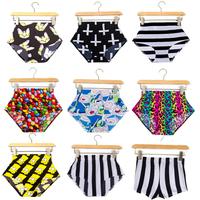 EAST KNITTING Drop shipping New 2014 fashion sexy women shorts High Waist cartoon print  Summer color Bottom