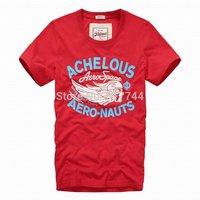 free shipping  2014  new styles hot  Achelous Triton Brand casual cotton men short sleeve t-shirt Men o neck t-shirt Tops Tees