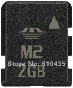 Wholesale M2 memory card 2GB full capacity MOQ 1pc Free shipping(China (Mainland))