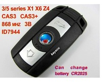 Remote Key 3 Button for BM-W BM 3/5 Series X1 X6 Z4 868MHZ With ID7944 Chip
