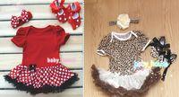 3pcs Newborn Infant Baby Girls Headband+Romper+Shoes Outfits & Sets costume