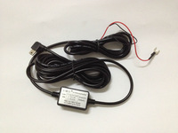 Hard-Wired Car Charger Power Line Input 12V-24V / Output 5V 1A For Car DVR...Free Shipping