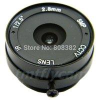 "Free Shipping New 1/2.5"" 5 Megapixel 2.8mm CS Mount Lens 124 Degree For CCTV IP Megapixel Network Camera"