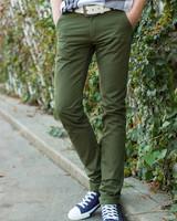 free shipping men summer pants , slim fit soft mens pants , fashion casual men male pants 56
