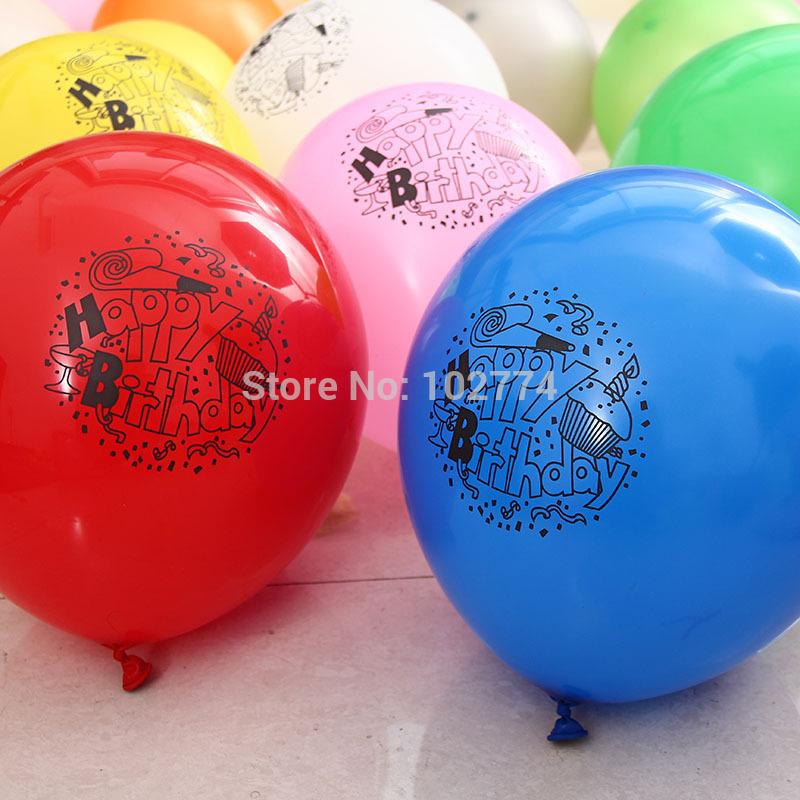 birthday balloon Printing balloon(China (Mainland))