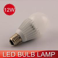 NEW DESIGN!! 2pcs LED bulb 12W 1600LM 360 degrees SMD 5730 aluminum LED bulb lamps 110-240V