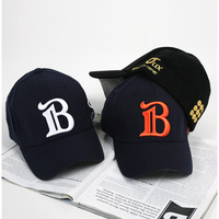 Hot selling 2014  sports casual baseball cap embroidered lovers cap b sunbonnet hip-hop hat free shipping