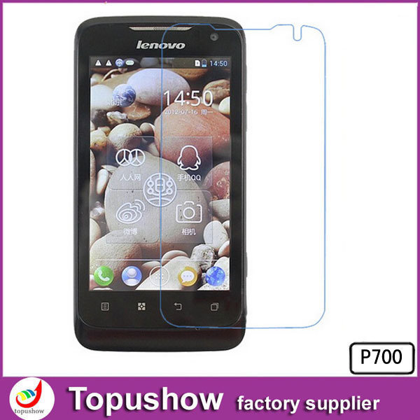 2014 Lcd Phone Screen Protector Film Mobile Phone Accessories For Lenovo P700 10pcs lot With Retail