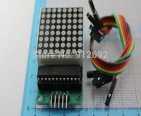Free shipping! 5pcs/lot MAX7219 dot matrix module microcontroller module for arduino display module finished goods