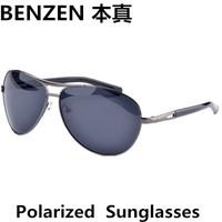 2014 Men sunglasses Classic aviator  Polarized  sun glasses alloy retor  driver driving  glasses UV 400  with case black 2030A
