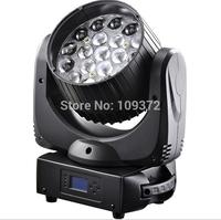 Hot OSRAM Zoom RGBW 4-In-1 19x12W LED Moving Head Beam Light