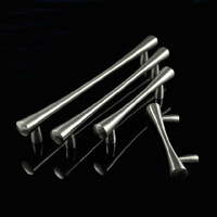 64mm Free shipping nickel color 304 stainless steel Kitchen Cabinet Drawer Furniture Handle