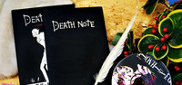 Fashion 2014 New Creative Gift Death Note Cosplay medium DEATH NOTE+CD+Feather PEN