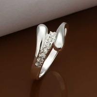 Wholesale 925 Silver Ring,925 Silver Fashion Jewelry,Inlaid Zircom Austria Crystal Ring New Arrival SMTR320