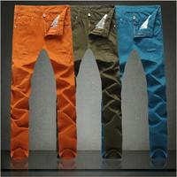 free shipping men's long pants , korean style soft comfortable outdoors men pants 53