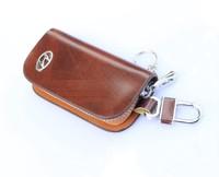 Free delivery charge Wallets Sonata Hyundai Tucson MEGA Shengda Xiang Lawns grain leather key cases