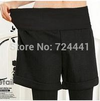 shorts 2014 women fashion new 2014 plus size autumn winter slim hip woolen shorts elastic high waist fashionable winter shorts