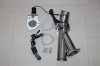 "2.5""/63mm ELECTRIC EXHAUST CATBACK/DOWNPIPE CUTOUT/E-CUT OUT VALVE SYSTEM KIT"