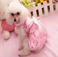 Puppy  Pet Dog Lady Dress  , Wedding Dresses ,Summer  Dress For Dog Cat ,Pet  Clothes