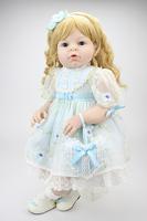 Custome Reborn Baby doll reborn Toddler Girl ARIANNA vinyl toys 28 inch baby dolls Children's Day gift