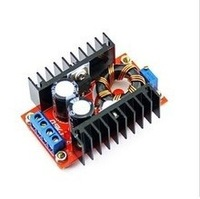Free shipping! 10pcs/lot Retail & Wholesale 150W Boost Converter DC-DC 10-32V to 12-35V Step Up Voltage Charger Module
