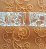 FREE SHIPPING 1PCS Transparent cake mold Rolling Pins Pastry Tools Decoration diy fondant new E136