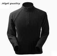 OUD125 -5 Hiking Jackets Men Long Sleeve Shirt Windstopper Coat Waterproof Camping Thermal Outdoor Sportswear Fleece Shirt