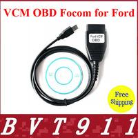 2014 New Arrival Super OBD2 Diagnostic Scanner FORD VCM Cable Free Shipping FORD VCM OBD For FORD/Mazda CNP Ford VCM OBD Focom