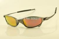 hotsale Juliet X sunglasses men women  x-metal gray frame fire iridium polarized sunglasses Juliet  04-114A new in case