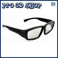 Free shipping Wholesale 50pcs/lot Passive 3D TV Glasses Circular Polarized for Home Passive 3D TV