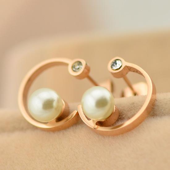 Rose Earrings Etsy Earring 14k Rose Gold