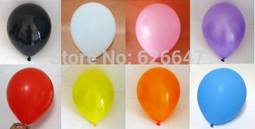 Wholesale Thicken 12inch Latex balloon Round Air Balloons Water fight balloons decorative play globos ballons(China (Mainland))
