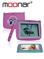 4.3 inch Moonar Children Tablet PC RK2926 1.0GHz Android 4.2 512MB/4GB Dual Camera WIFI Pink/Blue 2X PB0143
