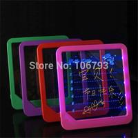 Luminescent neon Large handwritten message board blue light message board luminous message board