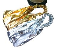 Fashion Elastic Headband Metallic Brand New Gold  Silver