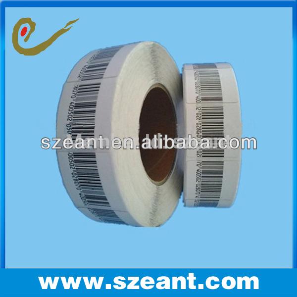 EAS RF Label,EAS Soft Label for Supermarket Alarm Gate/Checkpoint Soft Label(EC-L404)(China (Mainland))