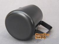 Free shipping 300ml Professional Black Teflon Milk Pitcher Milk Foaming Jug/ stainless steel milk cup latte espresso tools