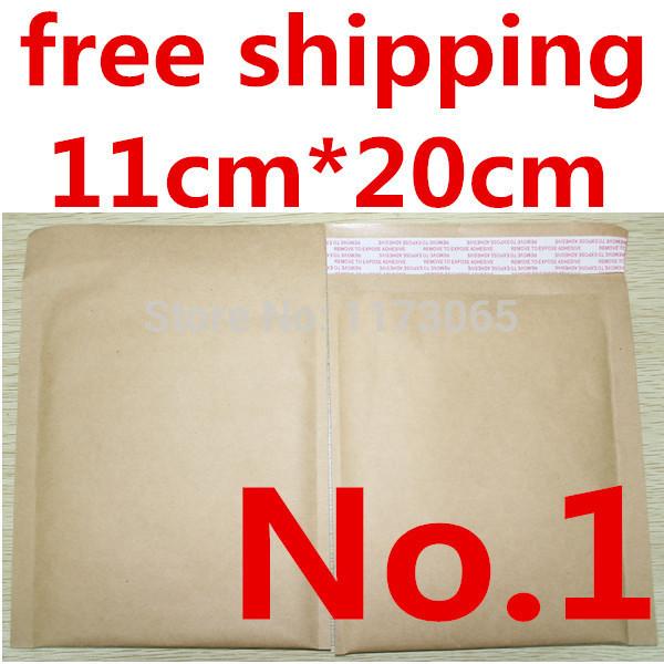 "Bubble Mailers Padded envelops bags kraft bubble mailers mailing envelops bag 4.3""X7.9""[110mm""x200mm""] Factory wholesales(China (Mainland))"