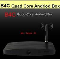 Measy B4C Quad Core Android 4.2 TV Box Mic+HD Camera+Bt RK3188 All In One 3D GPU 1GB DDR 1080P Minc PC